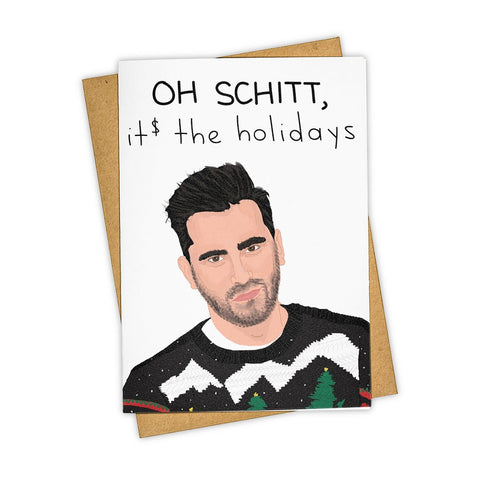 Schitt Holiday card