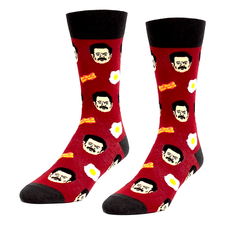 Bacon & Eggs Men's Socks