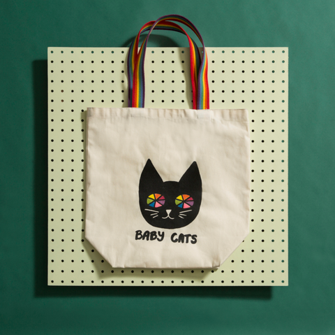 Rainbow Cat Tote