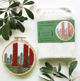 DIY Sequoia Grove Embroidery Kit