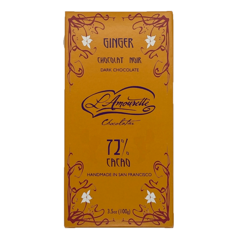 72% Dark Chocolate with Ginger