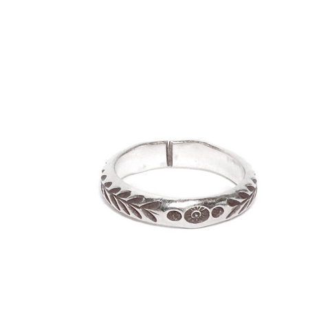 Thin Tribal Ring