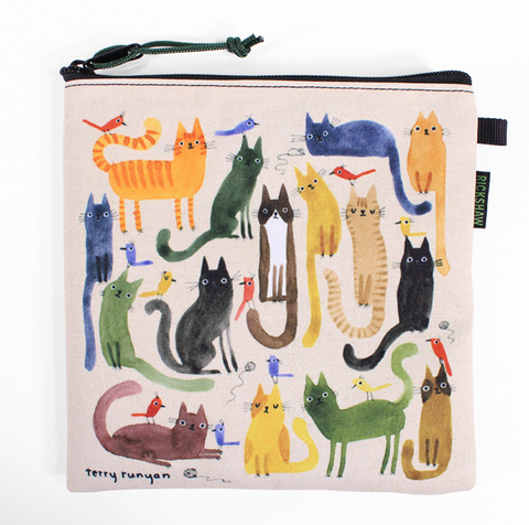 Cat Zipper Pouches