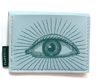 Eye Mini Vinyl Wallet