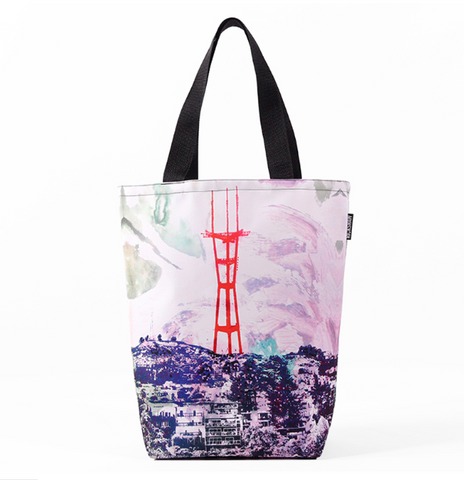 Brush Sutro Tower Tote