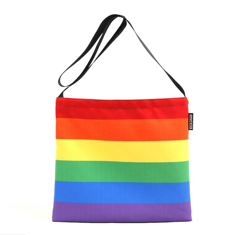 Rainbow Musette Tote