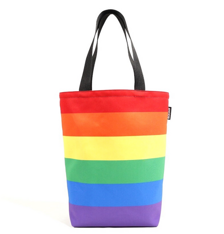 Rainbow Grocery Tote