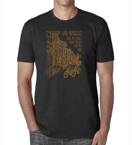 Victorian SF Funny Tee
