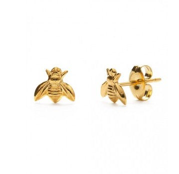 Tiny Honey Bee studs