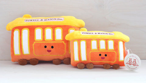 Cable Car plush toy