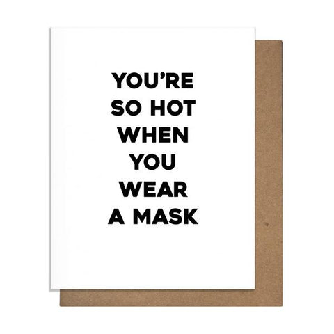 Wear a Mask Card