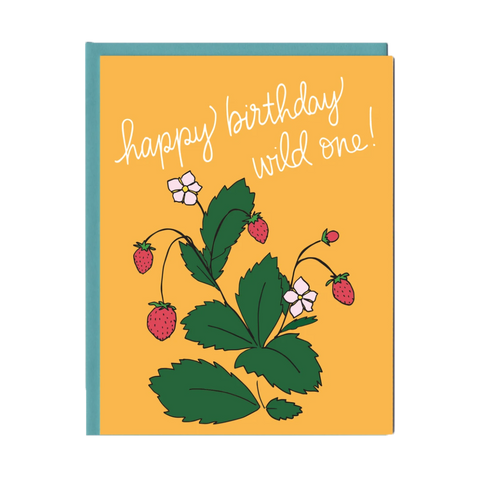 Wild One Birthday Greeting Card