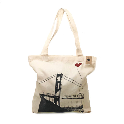 San Francisco Lover's Tote Bag