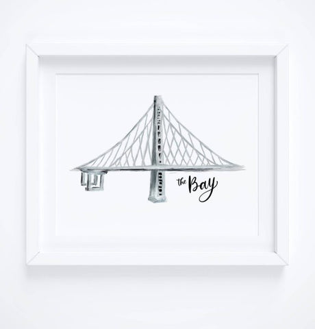 Bay Bridge print