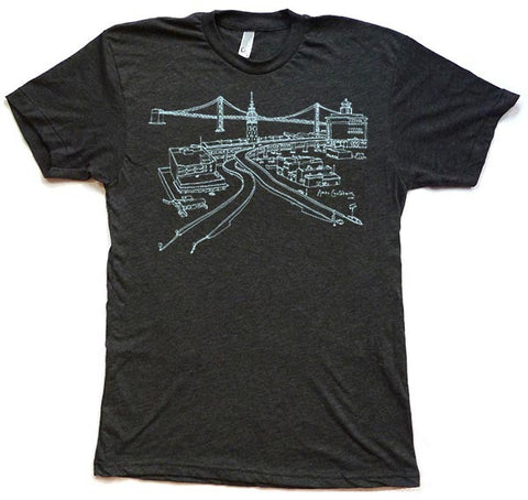 Ferry Building Men's T-Shirt