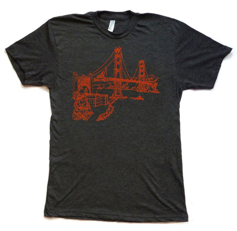 Golden Gate Bridge Men's T-Shirt