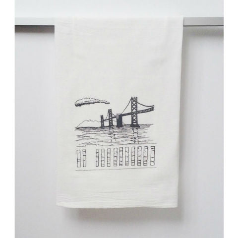Bay Bridge Tea Towel