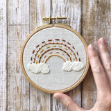 Earth Rainbow Embroidery Kit