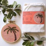 Palm Tree Embroidery Kit