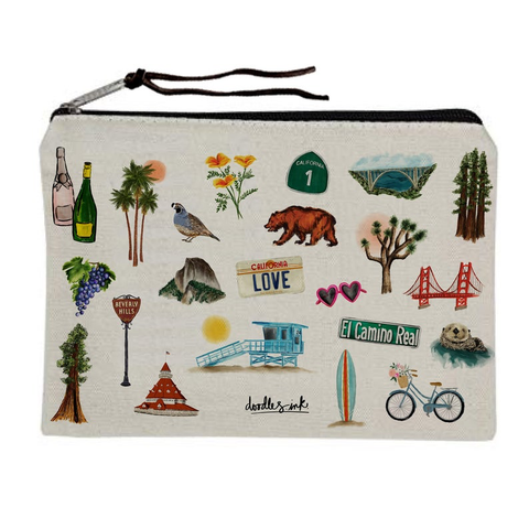 California Dreamin' Pouch