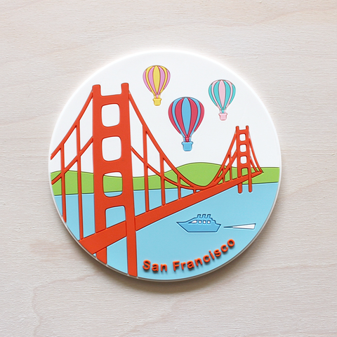 Colorful Balloons Coaster