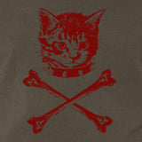 Kitten X-bones Men's T-shirt