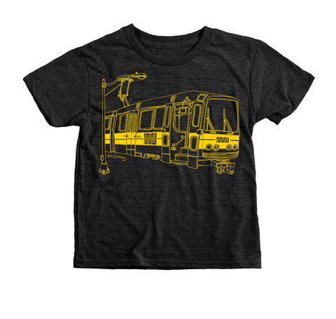 Muni Bus Kid's T-shirt