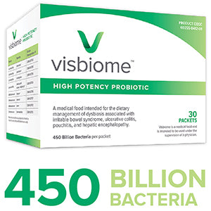 450 Billion bacteria in Visbiome