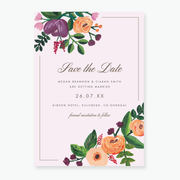 Allure Save the Date Card
