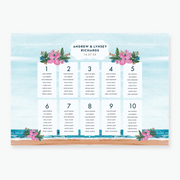 Beauty in Nature Table Plan