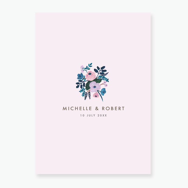 Blush Save the Date Card