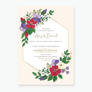 Bold Blooms Sample