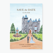 Fairytale Save the Date Card