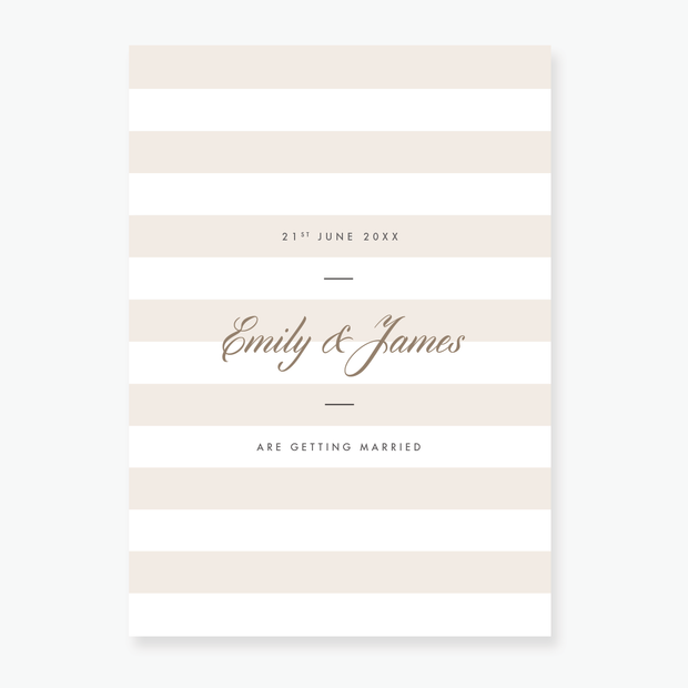 Luxe Evening Invitation