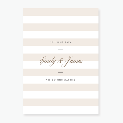 Luxe Wedding Invitation