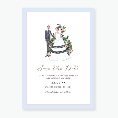 Romance Save the Date Card