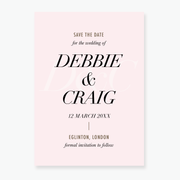 Spotlight Save the Date Card