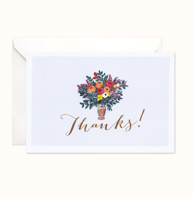 Adore Thank You card
