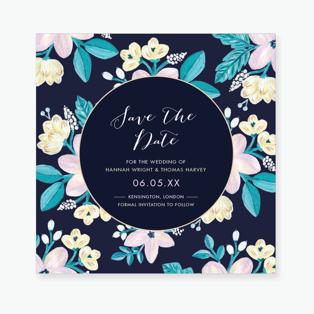 Adventurous Save the Date Card