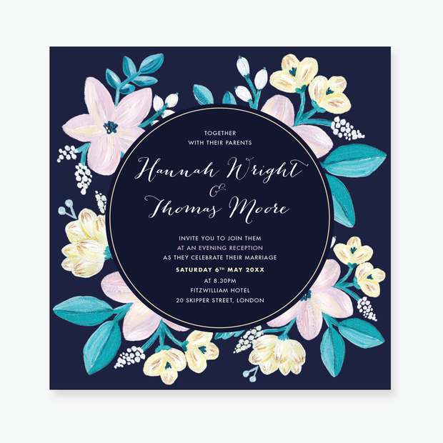 Adventurous Evening Invitation