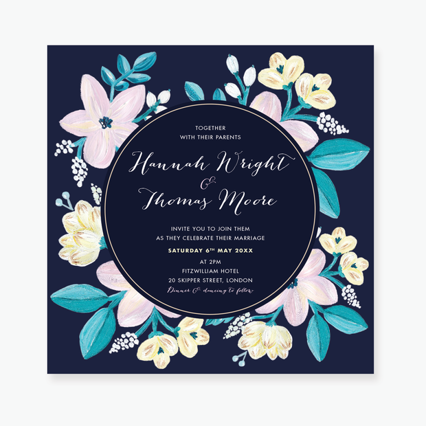 Adventurous Wedding Invitation