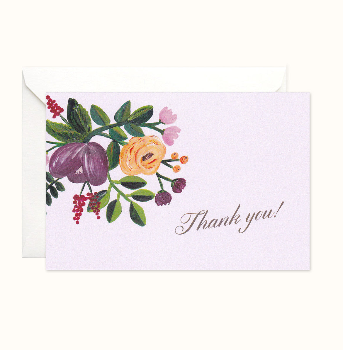 The Illustrated Corner Thank You card
