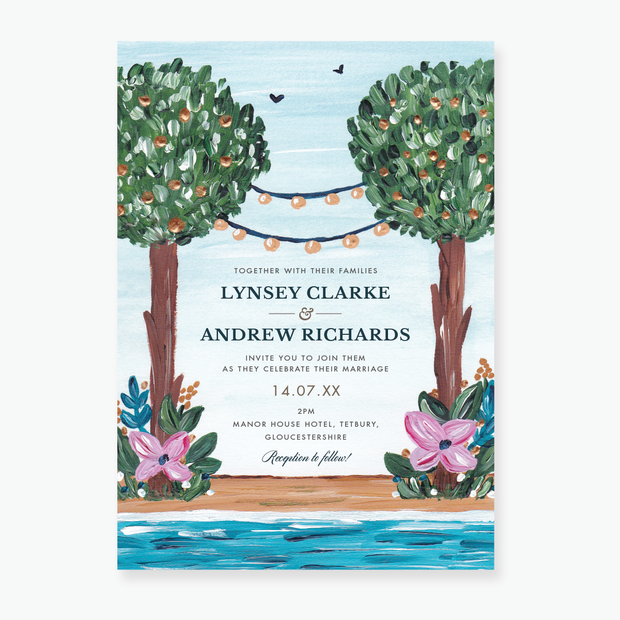 Beauty in Nature Wedding Invitation