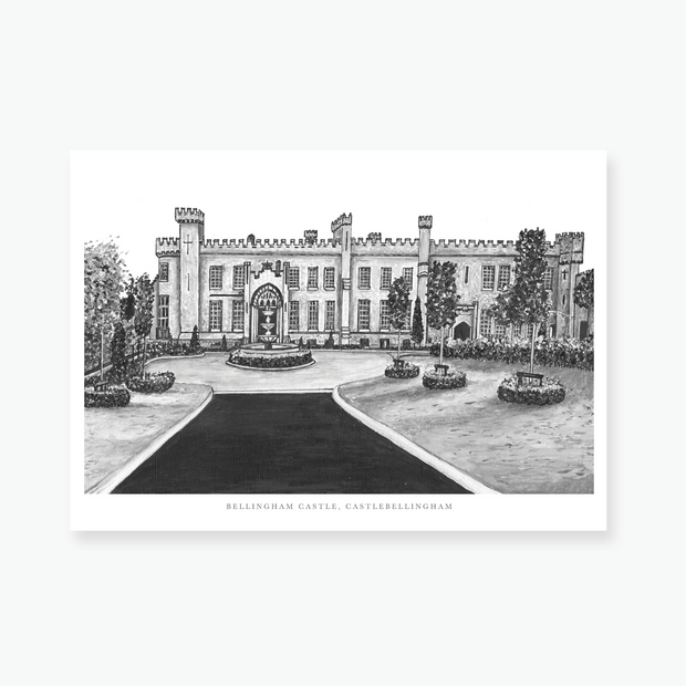 Bellingham Castle Art Print