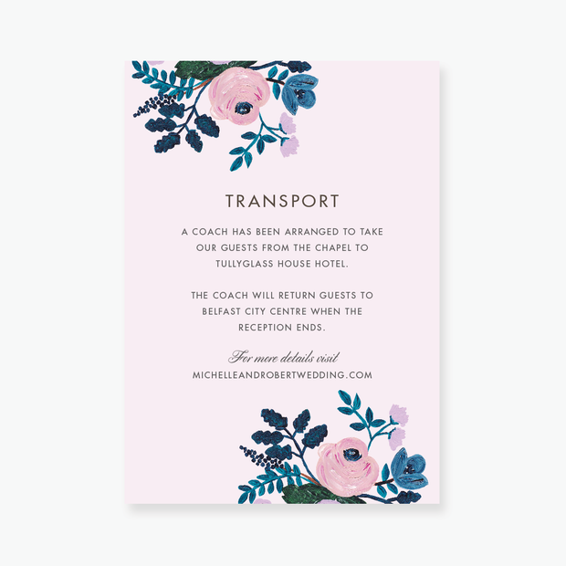 Blush Enclosure Card