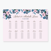 Blush Table Plan