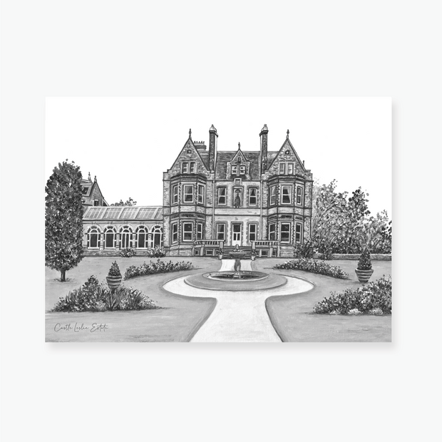 Castle Leslie Estate Art Print