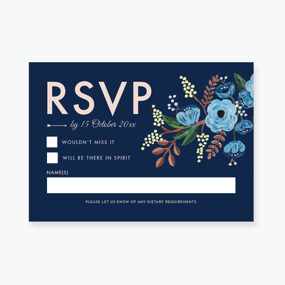 Countryside RSVP Card