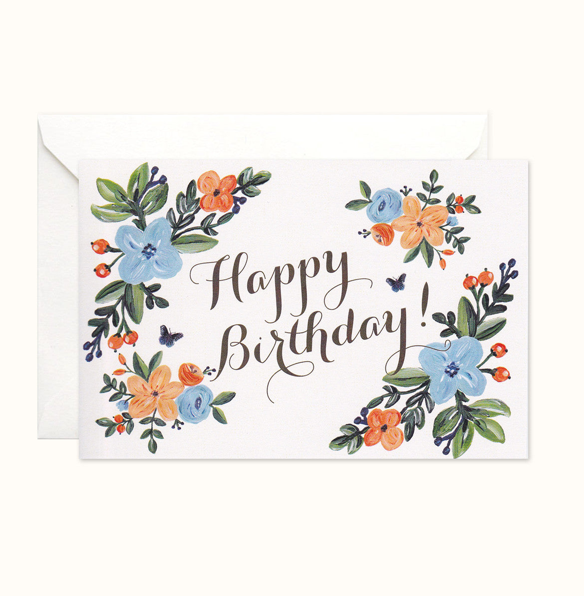 English Countryside Birthday card