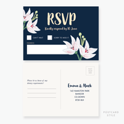 Exotic RSVP Card